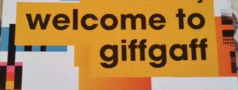 GiffGaff Welcome