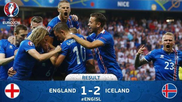 EURO 2016 England Iceland