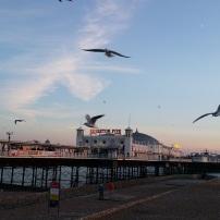 The famous Brighton Pier